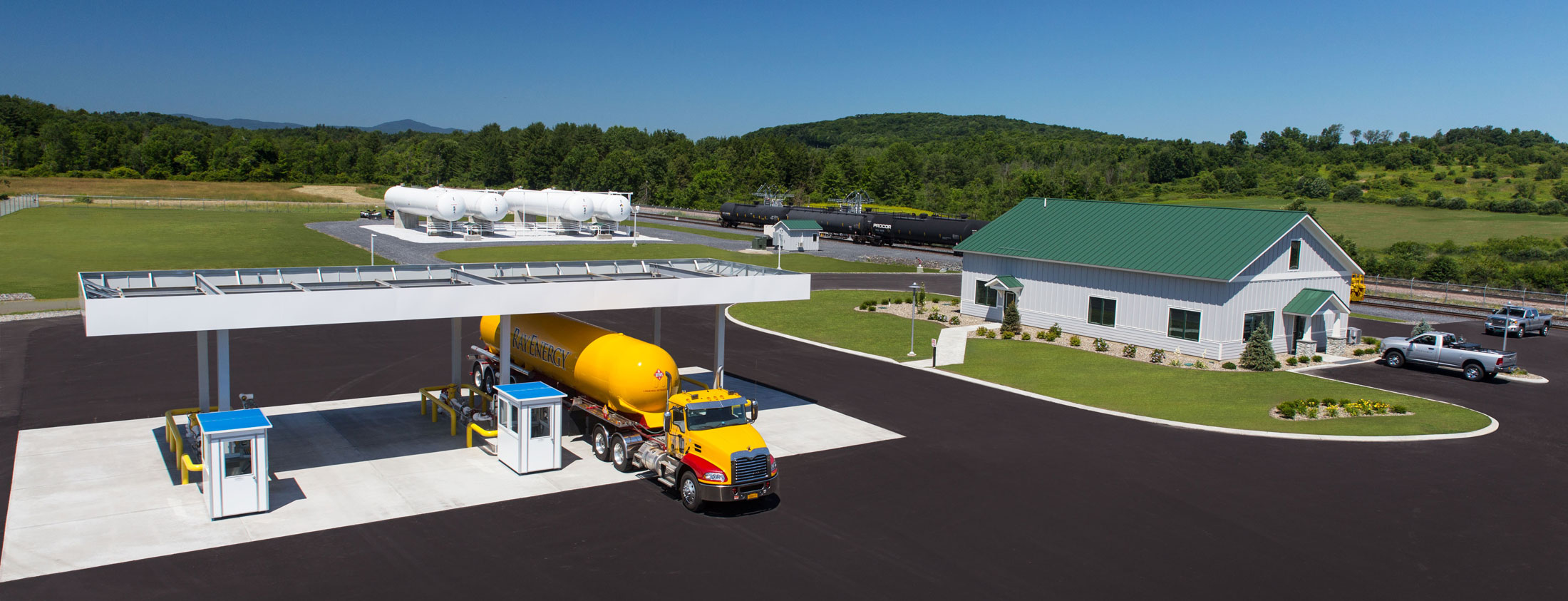 Ray Energy Propane Rail and Truck Terminal